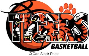 Tiger basketball Vector Clipart Illustrations. 144 Tiger.