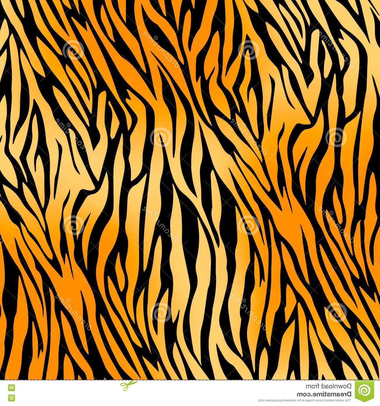 Unique Tiger Print Pattern Vector Pictures » Free Vector Art.