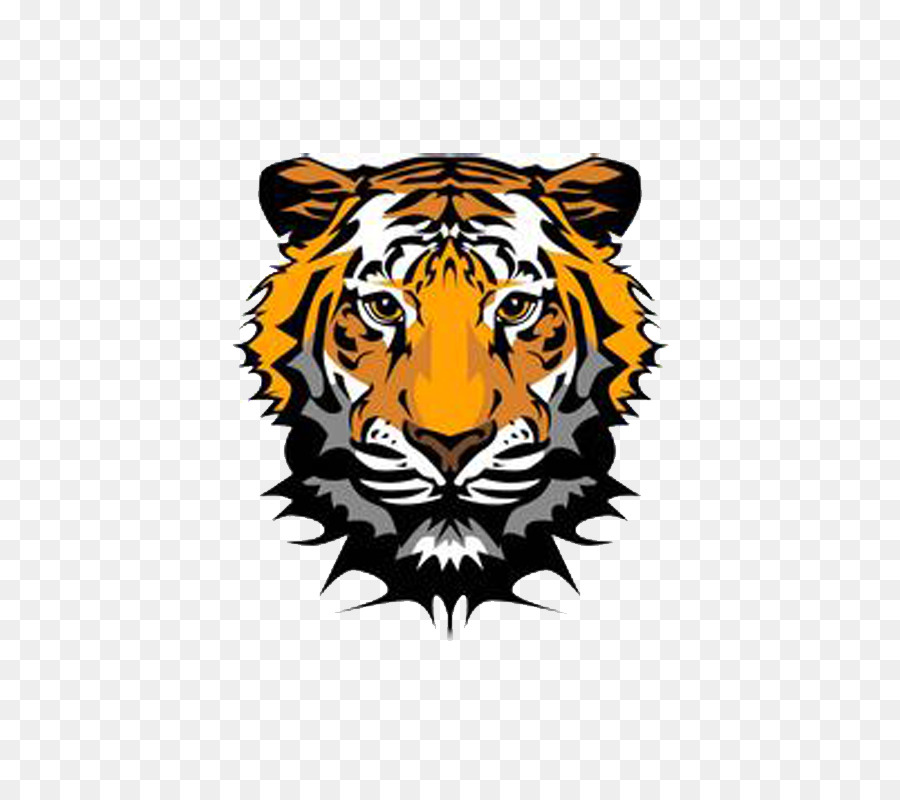Tiger Cartoon png download.