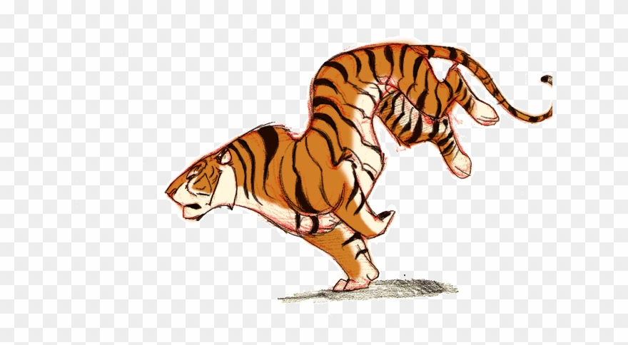 Tiger Gif Transparent Clipart Lion Tiger.