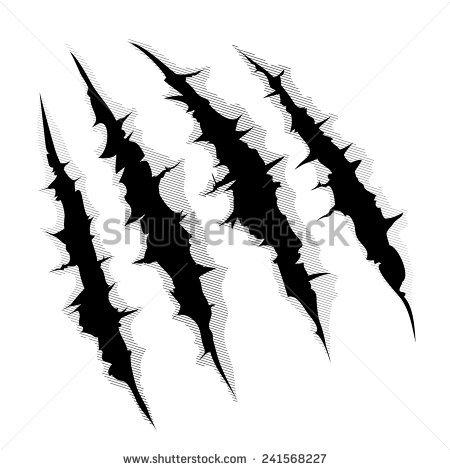 Tiger Claw Stock Images, Royalty.