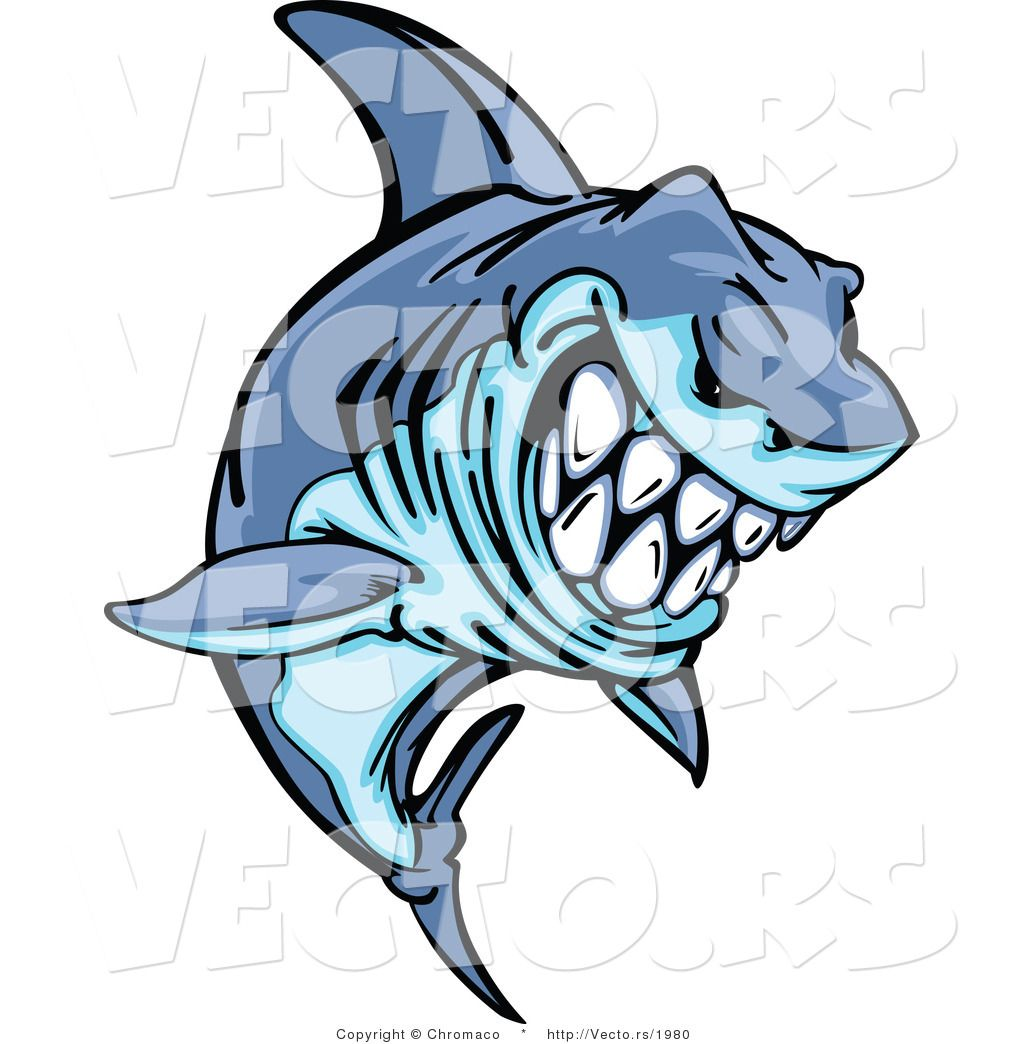 Tiger Shark Clip Art.