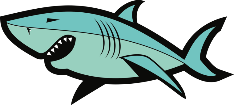 Tiger Shark Clipart public domain 12.