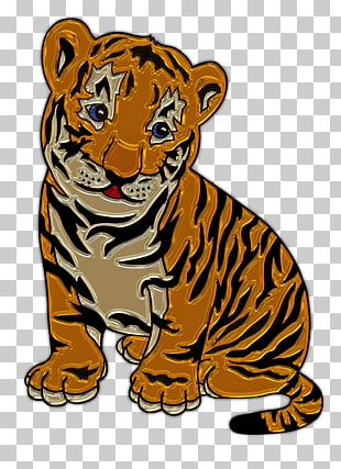 72 tiger Cub PNG cliparts for free download.