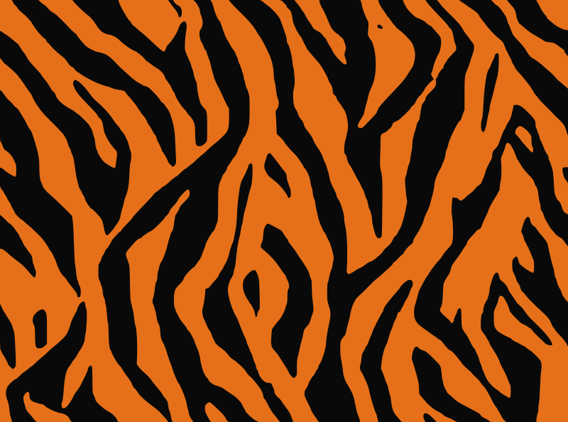 Tiger skin background clipart.