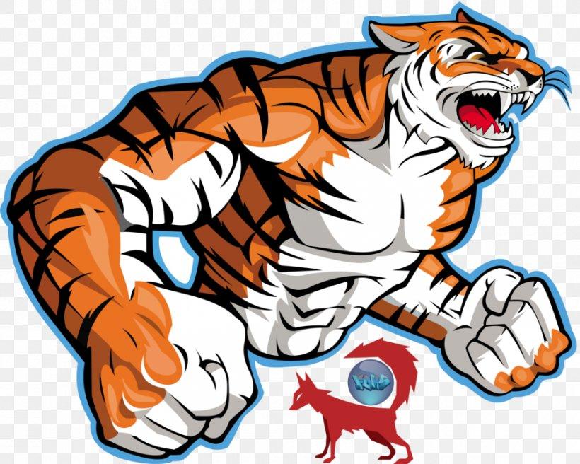 Bengal Tiger Logo Clip Art, PNG, 900x720px, Bengal Tiger.