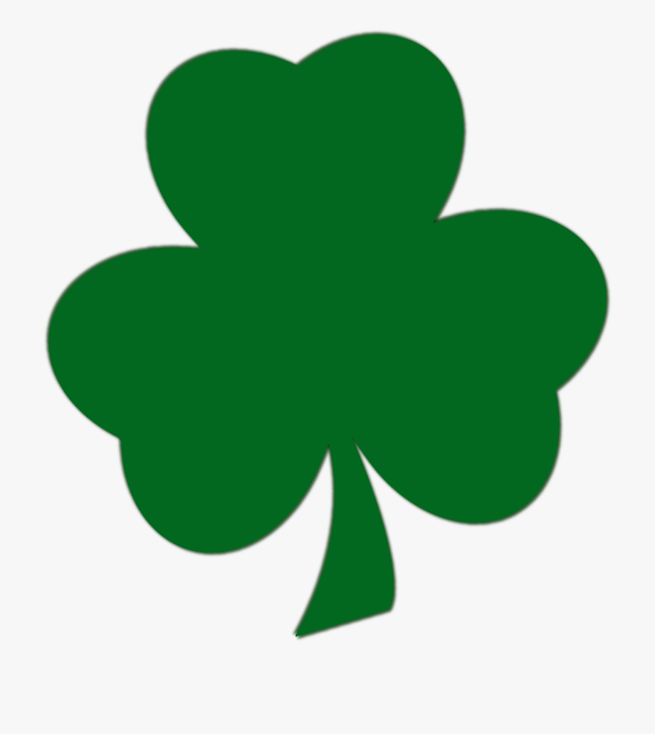 Shamrock Clipart Lucky Person.