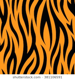 Tiger stripes clipart » Clipart Station.