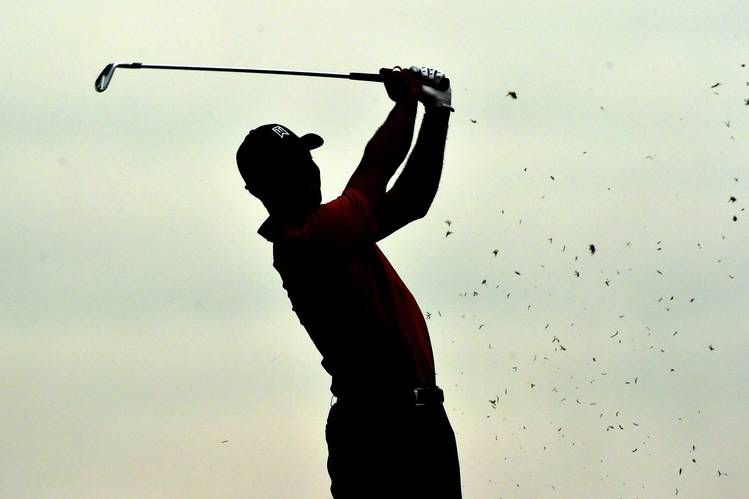 Tiger Woods Silhouette.
