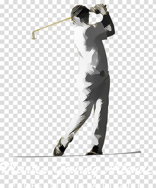 Golfer Graphic design grapher, Golf swing transparent.