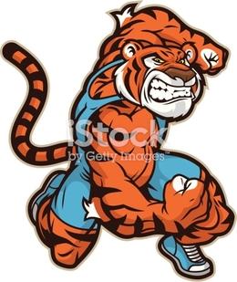 Download tiger wrestling clipart Professional Wrestler.