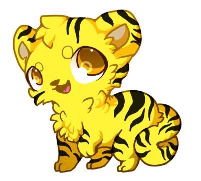 Yellow Tiger Cat.