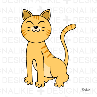 Tiger cat Pictures of clipart and graphic design and illustration.