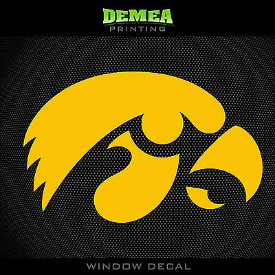 University of Iowa Haweyes Tigerhawk.