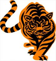 Free Tigers Clipart.