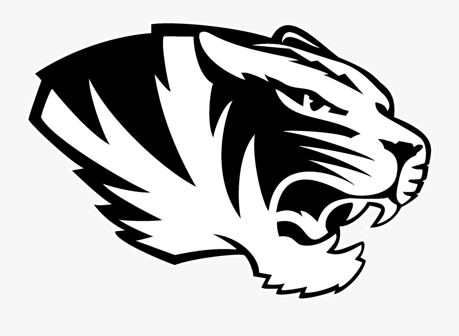 Missouri Tigers Logo Black And White.