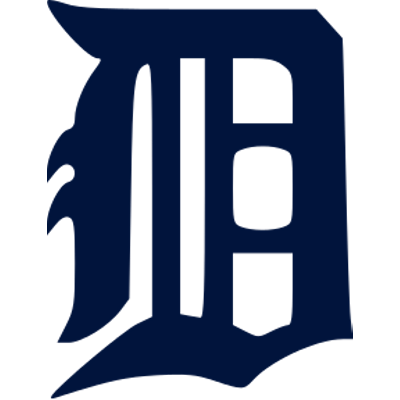 Detroit Tigers D Logo transparent PNG.