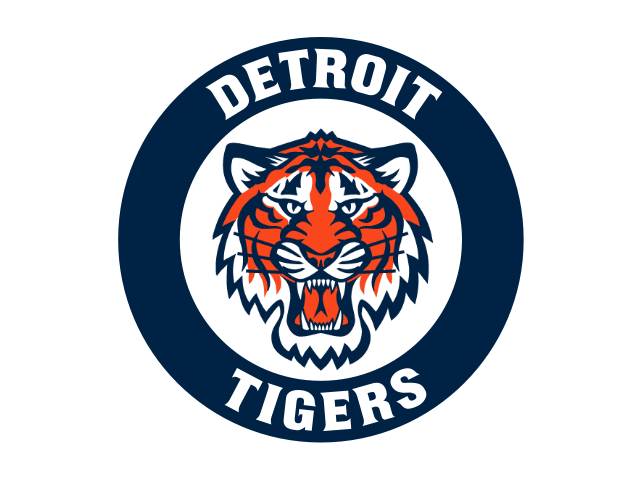 Detroit Tigers Circle Logo transparent PNG.