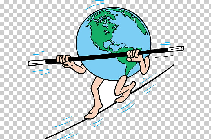 Tightrope walking , Earth tightrope PNG clipart.