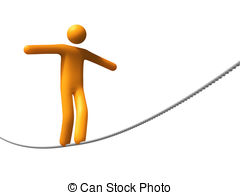 Tightrope Clipart and Stock Illustrations. 689 Tightrope vector.