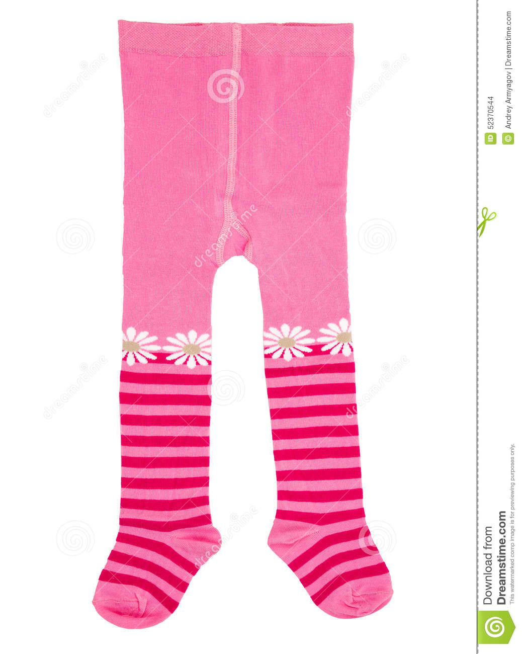 Infant Tights Stock Photo.