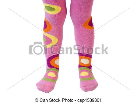 Stock Photography of Colorful tights.