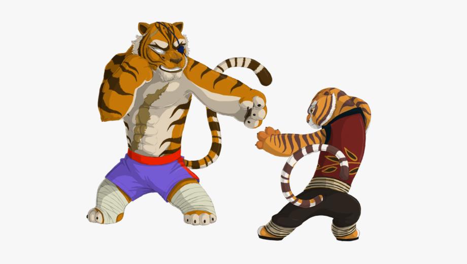Kung Fu Panda Clipart Tigress.