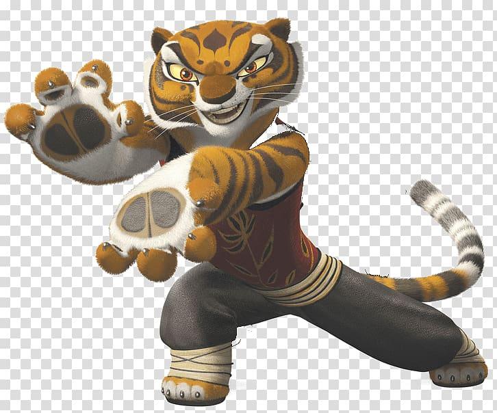 Kung Fu Tigress , Kung Fu Panda Tiger transparent background.