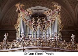 Stock Image of Abbey Church in Tihany, Hungary.