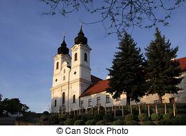Stock Photos of Abbey of Tihany.