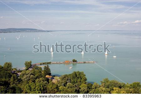 Tihany Lake Balaton Stock Photos, Royalty.