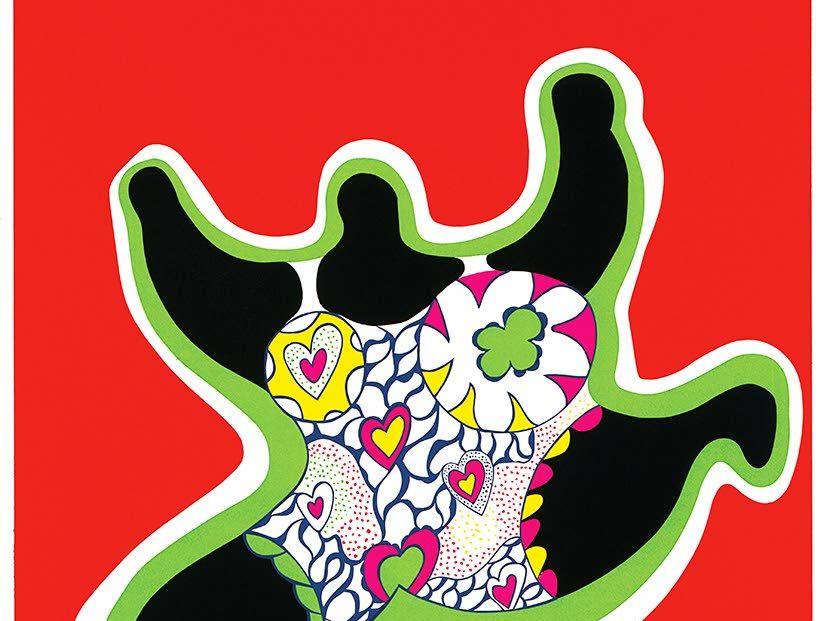 Ranskalaistaiteilija Niki de Saint Phalle eli täysillä.