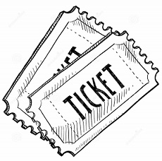 Ticket clipart 4 » Clipart Station.