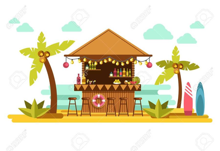 Download tiki bar clipart Tiki culture Clip art.
