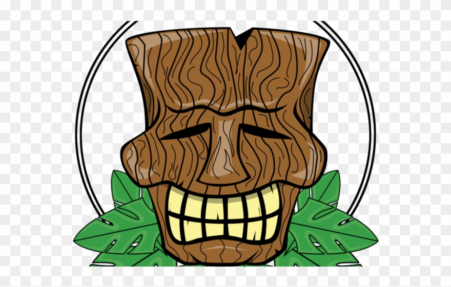 Voodoo Clipart Tiki Man.