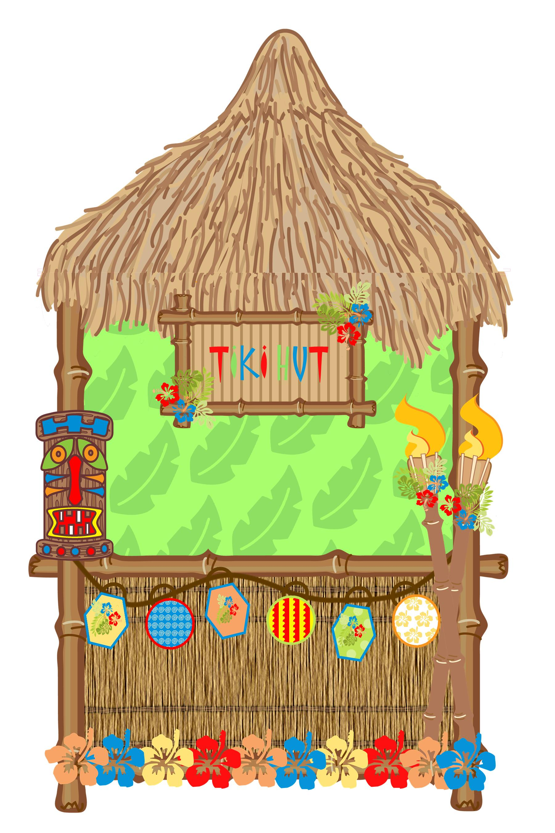 Tiki Hut Clipart Group with 69+ items.
