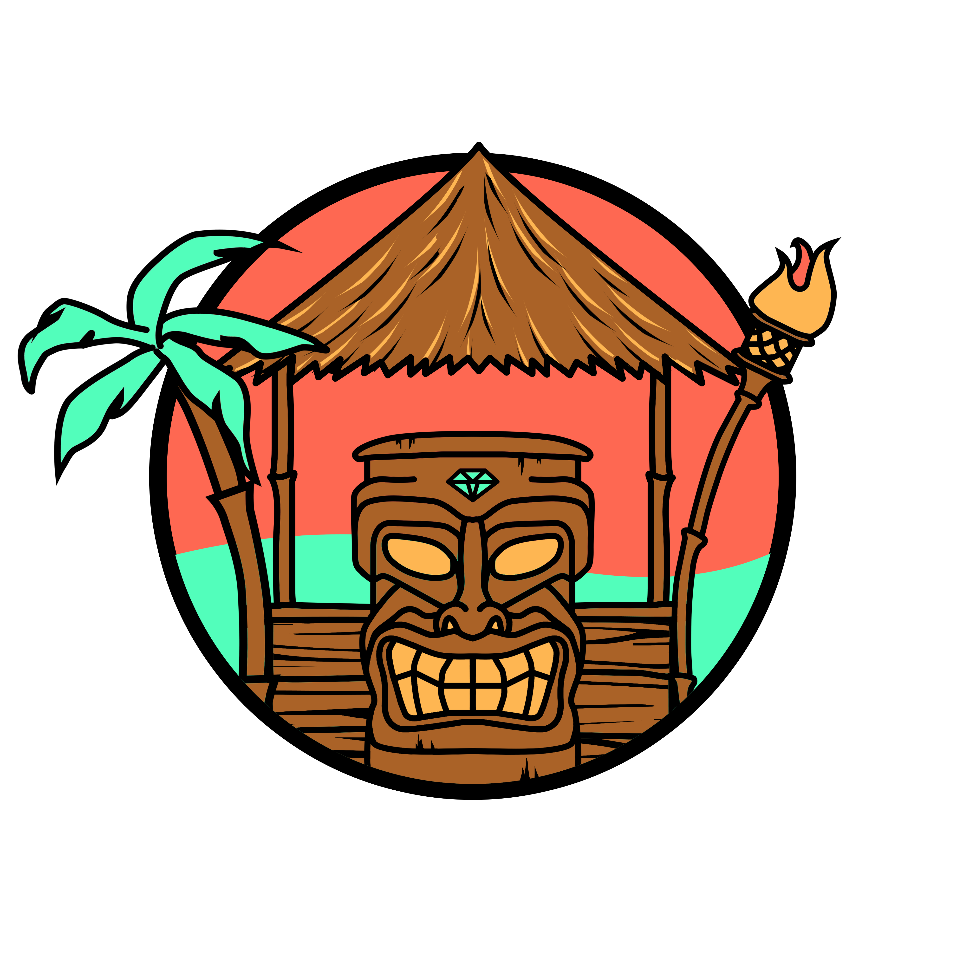 Faces clipart tiki, Faces tiki Transparent FREE for download.