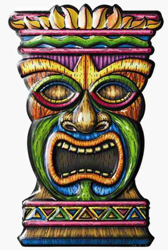 8888+ Cliparts: Tiki Men Clipart.