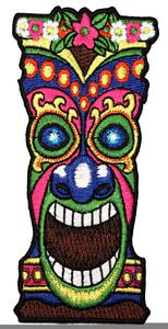 Clipart Hawaiian Tiki Mask.