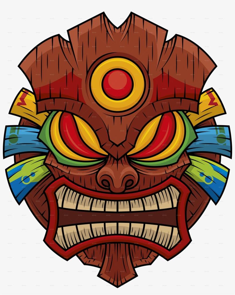 Tiki Mask 1.