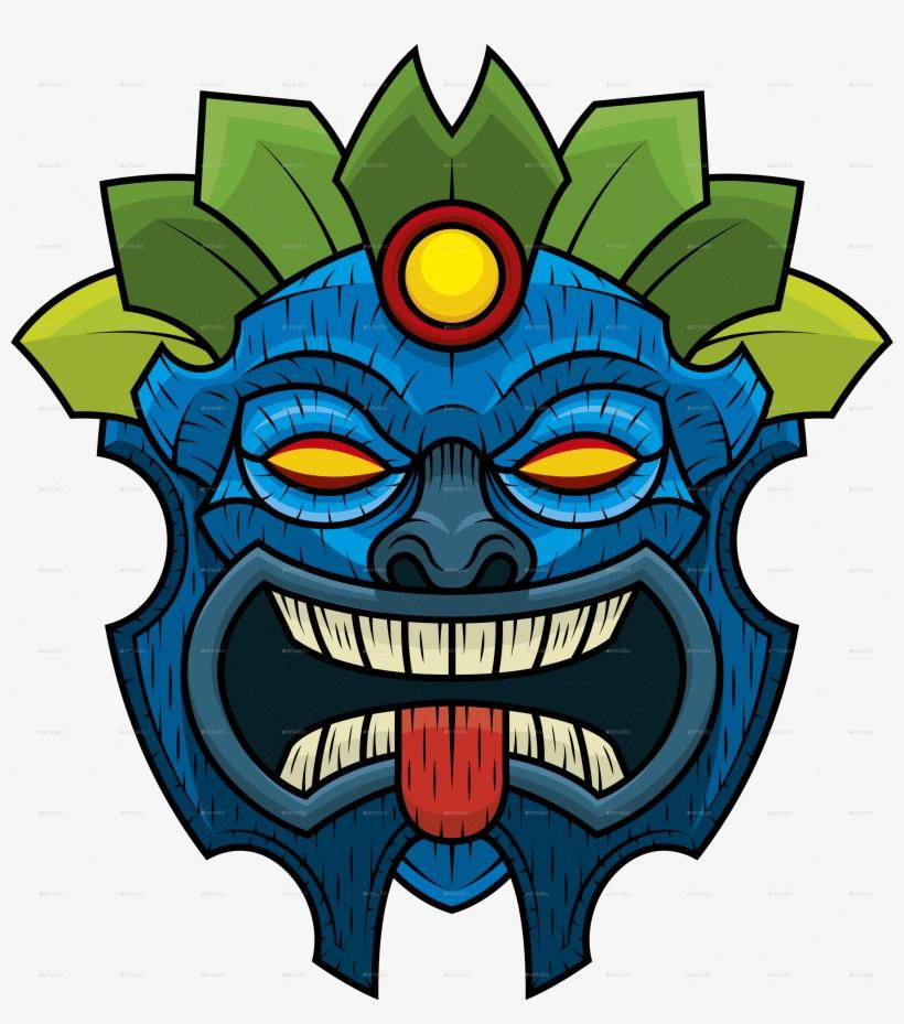 Tiki Mask 7.