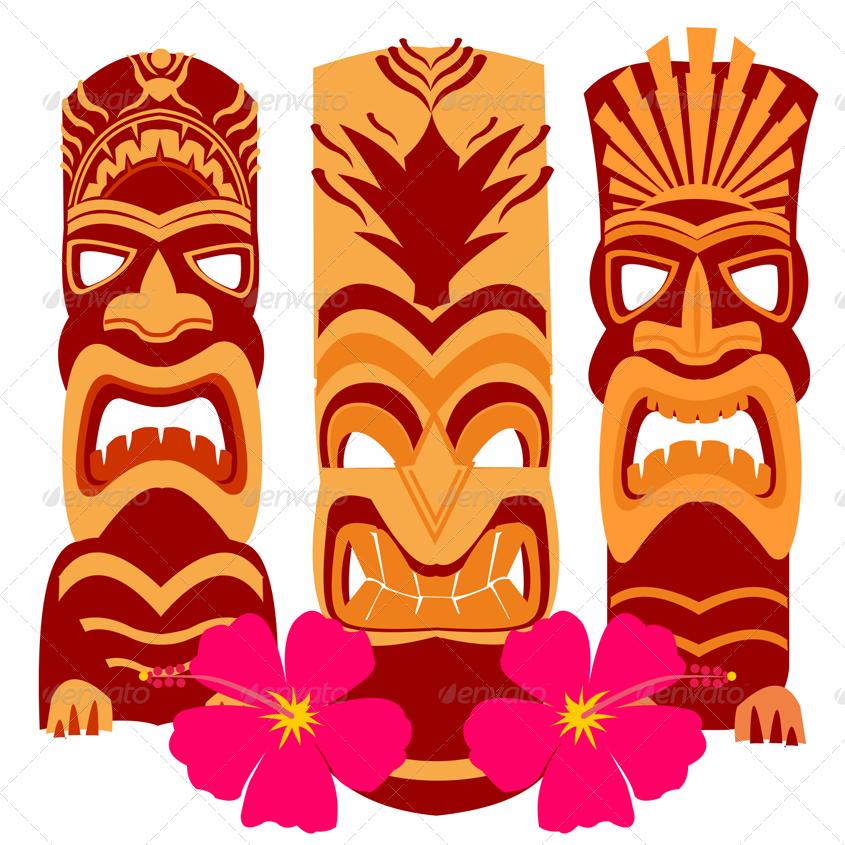 Download Free png Hawaiian tiki png 1 » PNG Image.