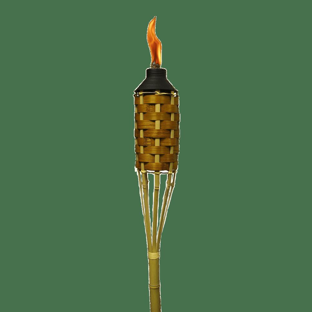 Burning Tiki Torch transparent PNG.