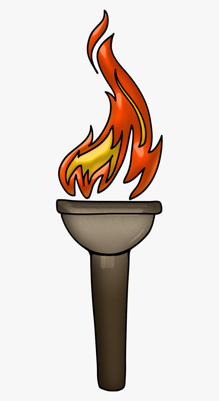 Tiki Torch Clipart.
