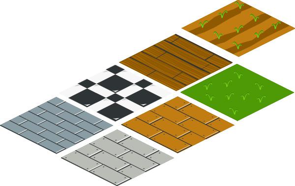 Isometric Floor Tile Clip Art at Clker.com.