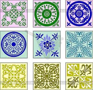 Ceramic Tile Clip Art.