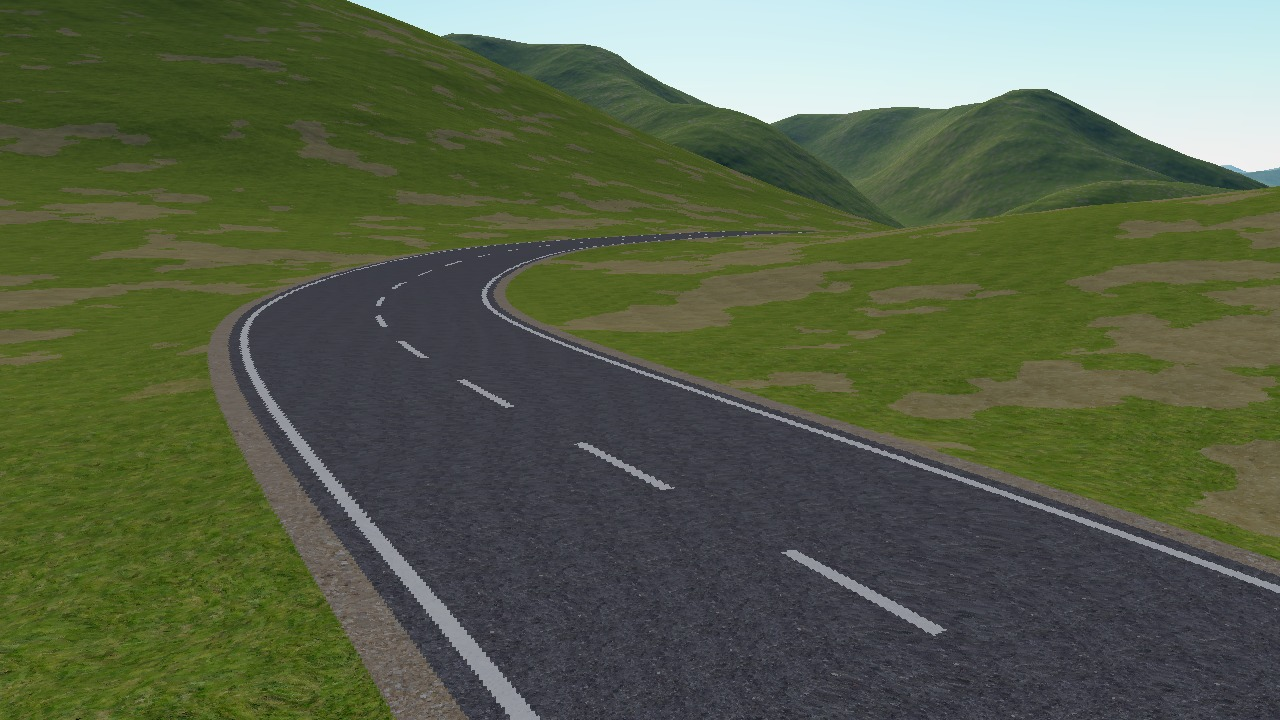 Outerra: Roads.
