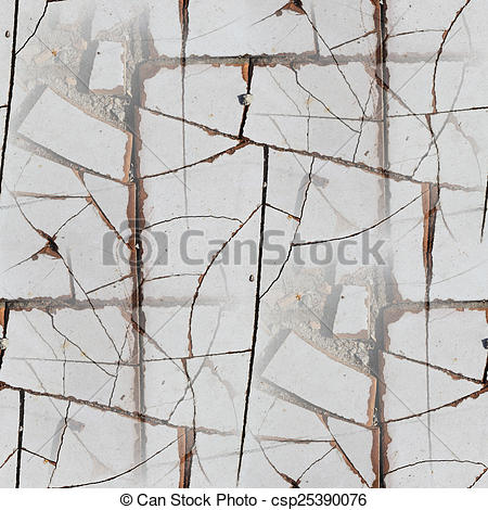 Stock Illustrations of Pavement stone tile road seamless texture.