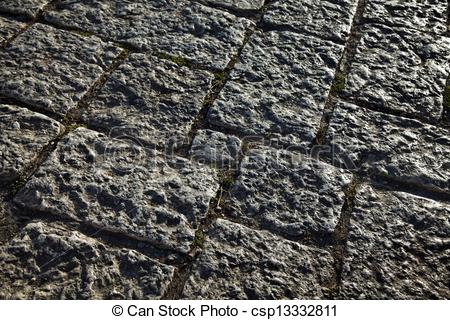 Road of rocks clipart.