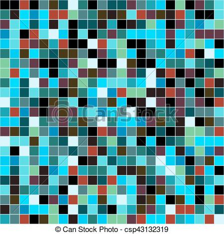 Mosaic tiles texture background.